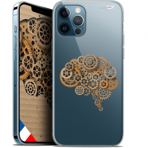 "Carcasa Gel Extra Fina Apple iPhone 12 / 12 Pro (6.1"") Design Mécanismes du Cerveau"