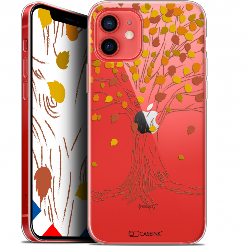 "Carcasa Gel Extra Fina Apple iPhone 12 Mini (5.4"") Autumn 16 Tree"