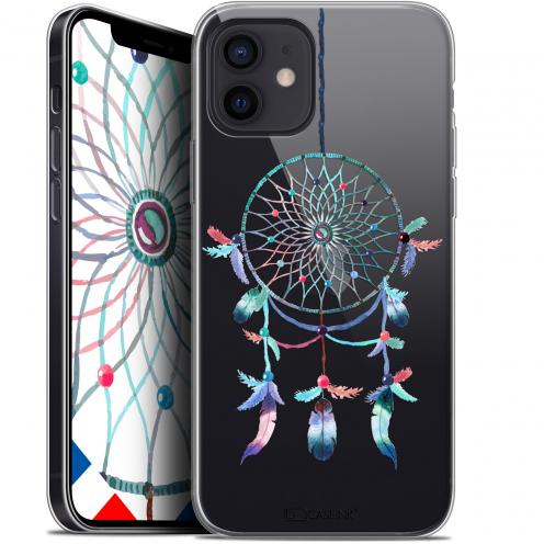 "Carcasa Gel Extra Fina Apple iPhone 12 Mini (5.4"") Dreamy Attrape Rêves Rainbow"