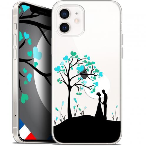 "Carcasa Gel Extra Fina Apple iPhone 12 Mini (5.4"") Love Sous l'arbre"