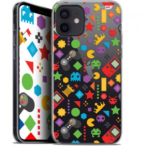 "Carcasa Gel Extra Fina Apple iPhone 12 Mini (5.4"") Design PacMan"
