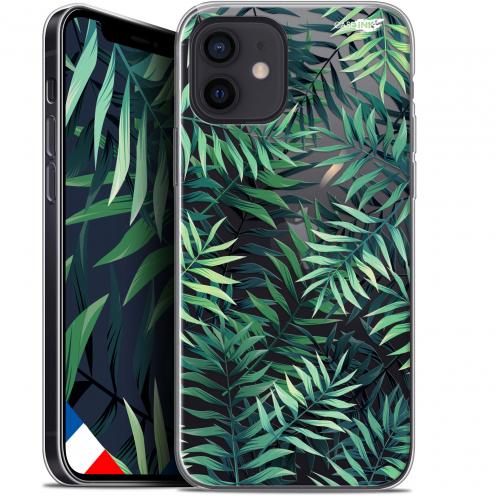 """Carcasa Gel Extra Fina Apple iPhone 12 Mini (5.4"""") Design Feuilles des Tropiques"""