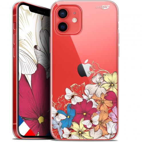 """Carcasa Gel Extra Fina Apple iPhone 12 Mini (5.4"""") Design Nuage Floral"""