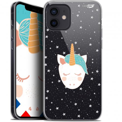 "Carcasa Gel Extra Fina Apple iPhone 12 Mini (5.4"") Design Licorne Dors"