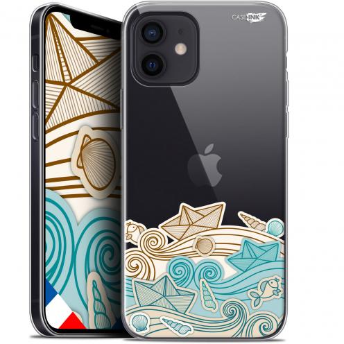 """Carcasa Gel Extra Fina Apple iPhone 12 Mini (5.4"""") Design Bateau de Papier"""