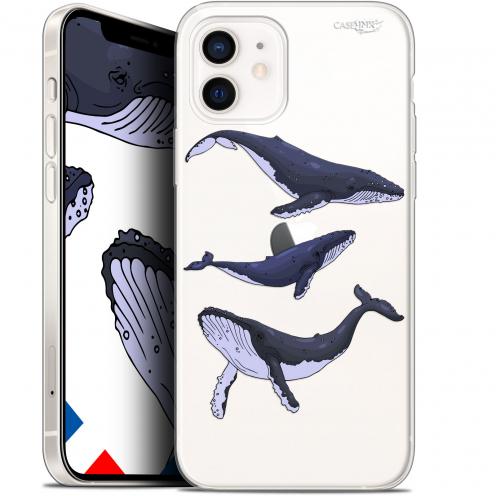 "Carcasa Gel Extra Fina Apple iPhone 12 Mini (5.4"") Design Les 3 Baleines"