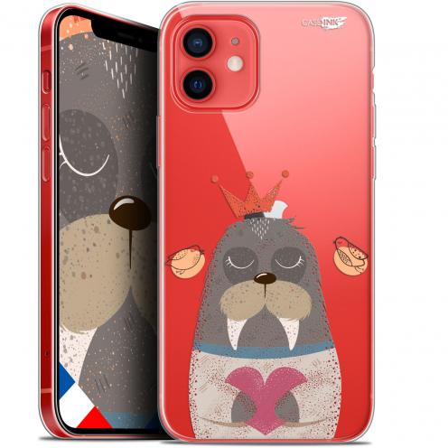 "Carcasa Gel Extra Fina Apple iPhone 12 Mini (5.4"") Design Sketchy Walrus"