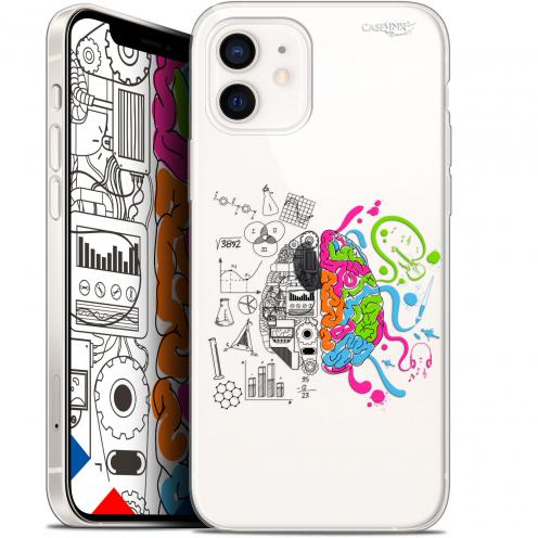 """Carcasa Gel Extra Fina Apple iPhone 12 Mini (5.4"""") Design Le Cerveau"""