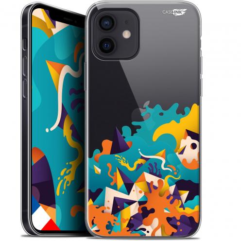 "Carcasa Gel Extra Fina Apple iPhone 12 Mini (5.4"") Design Les Vagues"