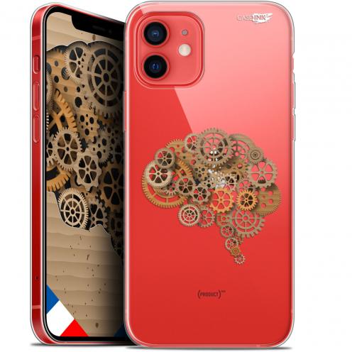 """Carcasa Gel Extra Fina Apple iPhone 12 Mini (5.4"""") Design Mécanismes du Cerveau"""