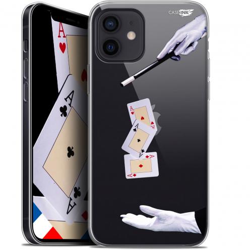 """Carcasa Gel Extra Fina Apple iPhone 12 Mini (5.4"""") Design Cartes Magiques"""