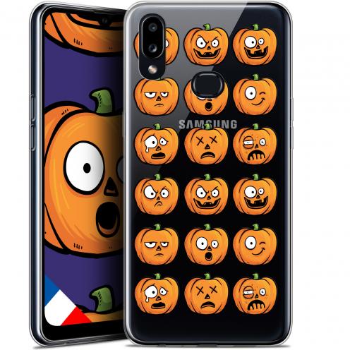 "Carcasa Gel Extra Fina Samsung Galaxy A10S (6.1"") Halloween Cartoon Citrouille"