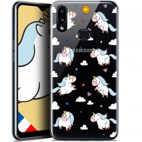 "Carcasa Gel Extra Fina Samsung Galaxy A10S (6.1"") Fantasia Licorne In the Sky"