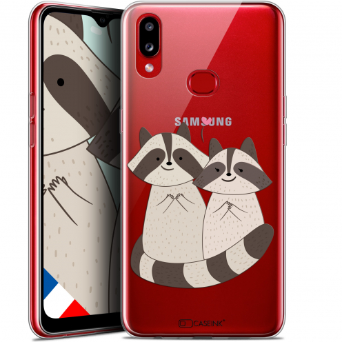 "Carcasa Gel Extra Fina Samsung Galaxy A10S (6.1"") Sweetie Racoon Love"