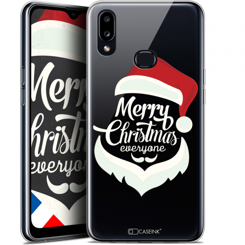 "Carcasa Gel Extra Fina Samsung Galaxy A10S (6.1"") Noël 2017 Merry Everyone"