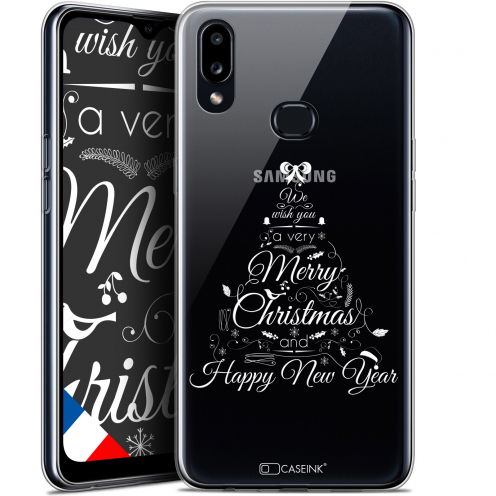 "Carcasa Gel Extra Fina Samsung Galaxy A10S (6.1"") Noël 2017 Calligraphie"