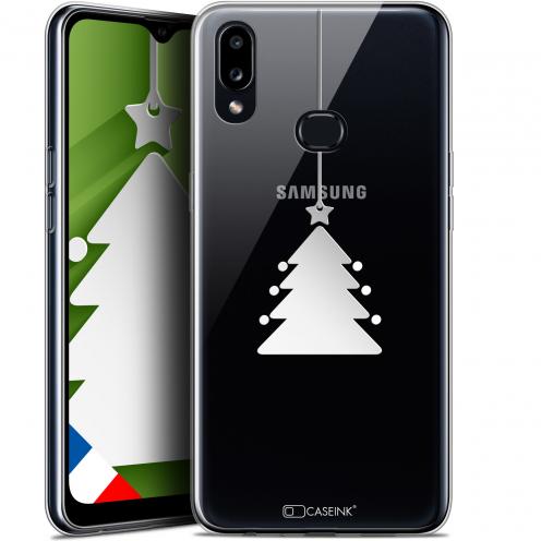"Carcasa Gel Extra Fina Samsung Galaxy A10S (6.1"") Noël 2017 Petit Arbre"
