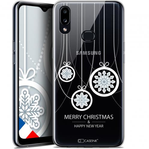 "Carcasa Gel Extra Fina Samsung Galaxy A10S (6.1"") Noël 2017 Christmas Balls"