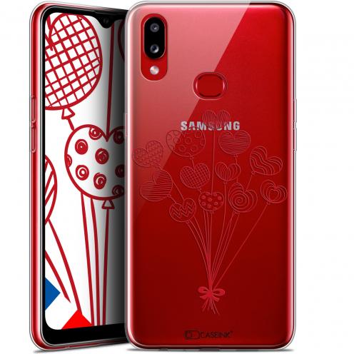 "Carcasa Gel Extra Fina Samsung Galaxy A10S (6.1"") Love Ballons d'amour"