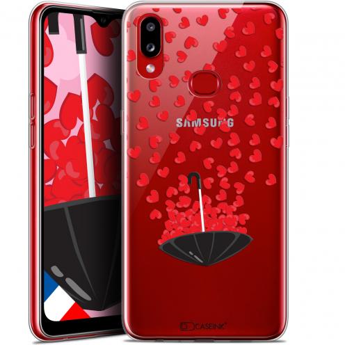 "Carcasa Gel Extra Fina Samsung Galaxy A10S (6.1"") Love Parapluie d'Amour"