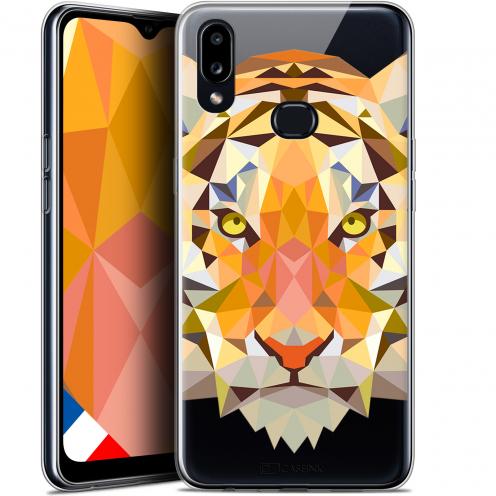 "Carcasa Gel Extra Fina Samsung Galaxy A10S (6.1"") Polygon Animals Tigre"