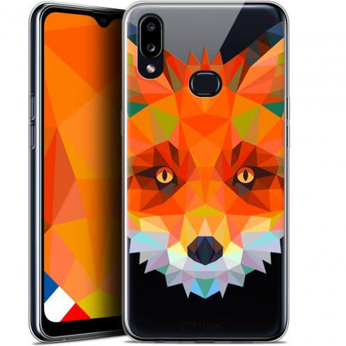 "Carcasa Gel Extra Fina Samsung Galaxy A10S (6.1"") Polygon Animals Zorro"
