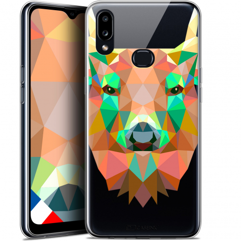 "Carcasa Gel Extra Fina Samsung Galaxy A10S (6.1"") Polygon Animals Ciervo"