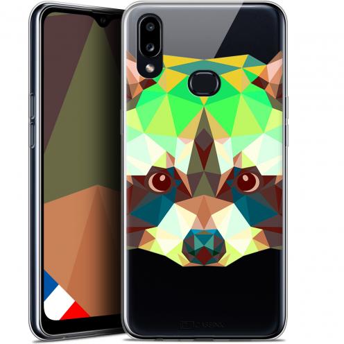 "Carcasa Gel Extra Fina Samsung Galaxy A10S (6.1"") Polygon Animals Raton Laveur"