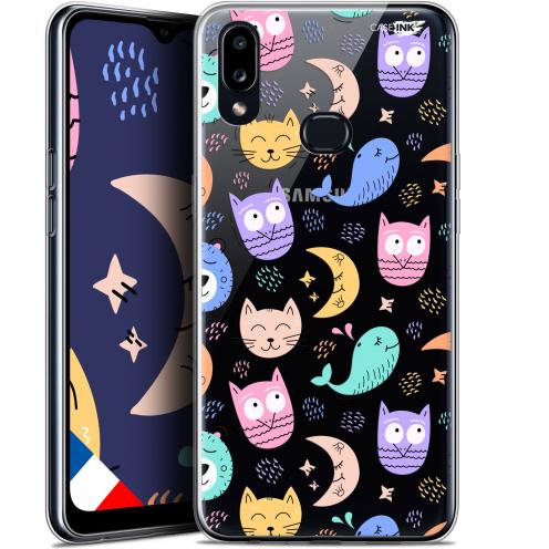 "Carcasa Gel Extra Fina Samsung Galaxy A10S (6.1"") Design Chat Hibou"