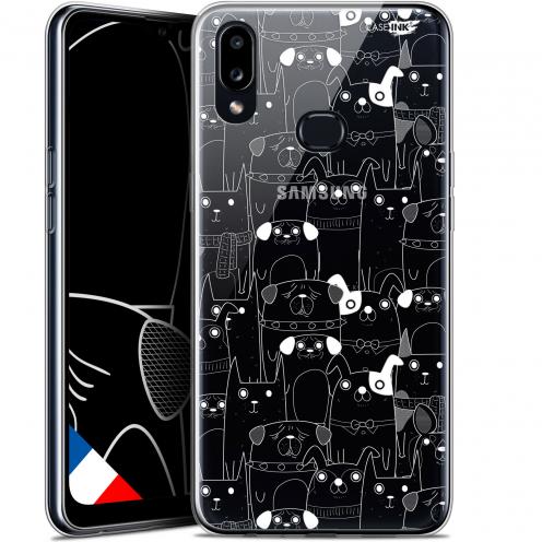 "Carcasa Gel Extra Fina Samsung Galaxy A10S (6.1"") Design Chien Blanc"