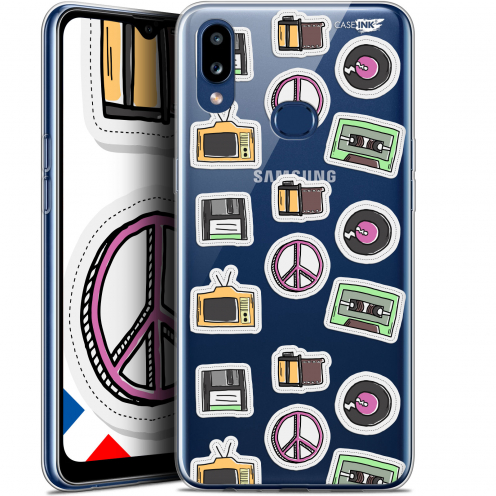 "Carcasa Gel Extra Fina Samsung Galaxy A10S (6.1"") Design Vintage Stickers"