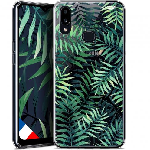 """Carcasa Gel Extra Fina Samsung Galaxy A10S (6.1"""") Design Feuilles des Tropiques"""