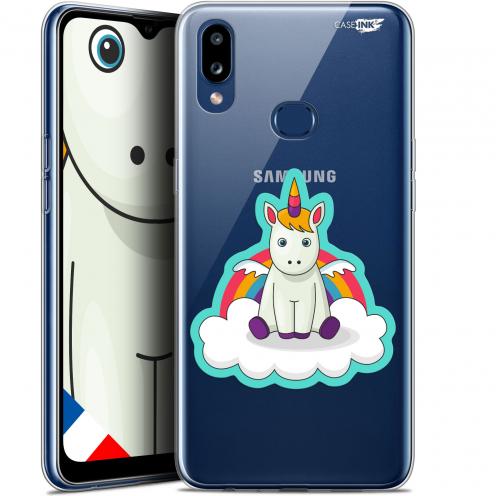 """Carcasa Gel Extra Fina Samsung Galaxy A10S (6.1"""") Design Bébé Licorne"""