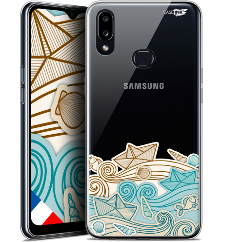 "Carcasa Gel Extra Fina Samsung Galaxy A10S (6.1"") Design Bateau de Papier"