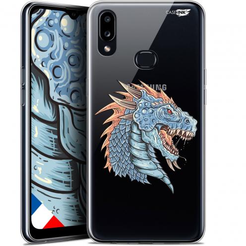 """Carcasa Gel Extra Fina Samsung Galaxy A10S (6.1"""") Design Dragon Draw"""