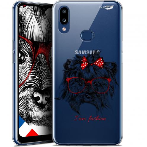 "Carcasa Gel Extra Fina Samsung Galaxy A10S (6.1"") Design Fashion Dog"