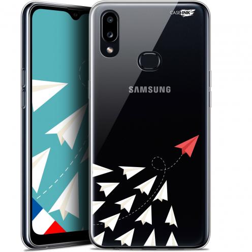 "Carcasa Gel Extra Fina Samsung Galaxy A10S (6.1"") Design Papier Volant"