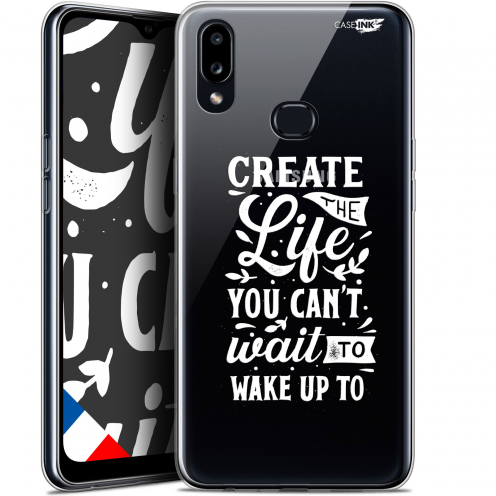 "Carcasa Gel Extra Fina Samsung Galaxy A10S (6.1"") Design Wake Up Your Life"