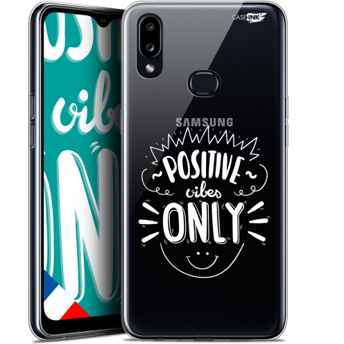 "Carcasa Gel Extra Fina Samsung Galaxy A10S (6.1"") Design Positive Vibes Only"