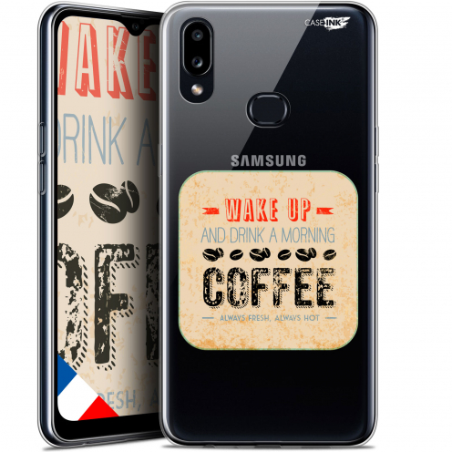 "Carcasa Gel Extra Fina Samsung Galaxy A10S (6.1"") Design Wake Up With Coffee"