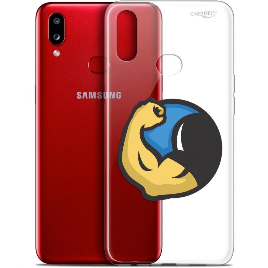 "Carcasa Gel Extra Fina Samsung Galaxy A10S (6.1"") Design Monsieur Muscle"