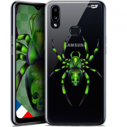 "Carcasa Gel Extra Fina Samsung Galaxy A10S (6.1"") Design Arraignée Verte"