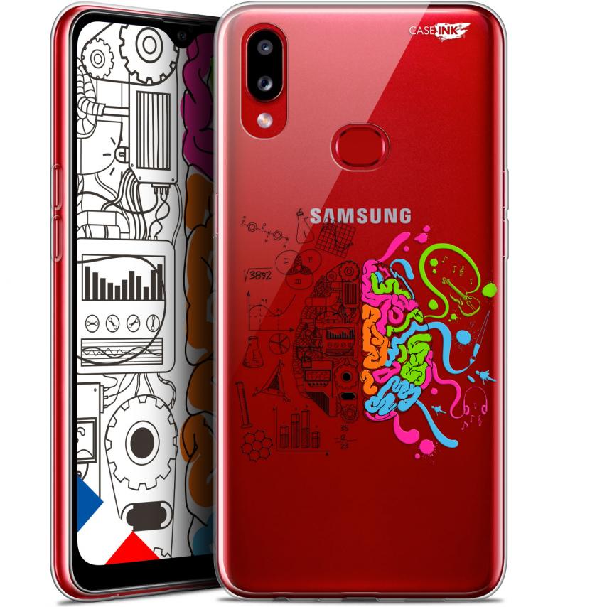 "Carcasa Gel Extra Fina Samsung Galaxy A10S (6.1"") Design Le Cerveau"