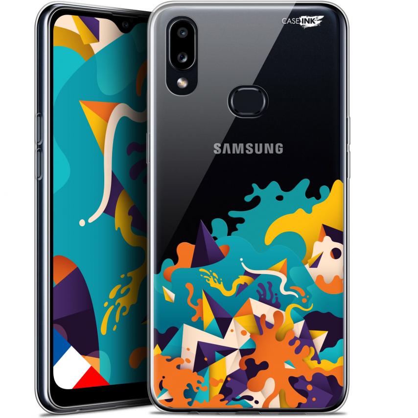 "Carcasa Gel Extra Fina Samsung Galaxy A10S (6.1"") Design Les Vagues"