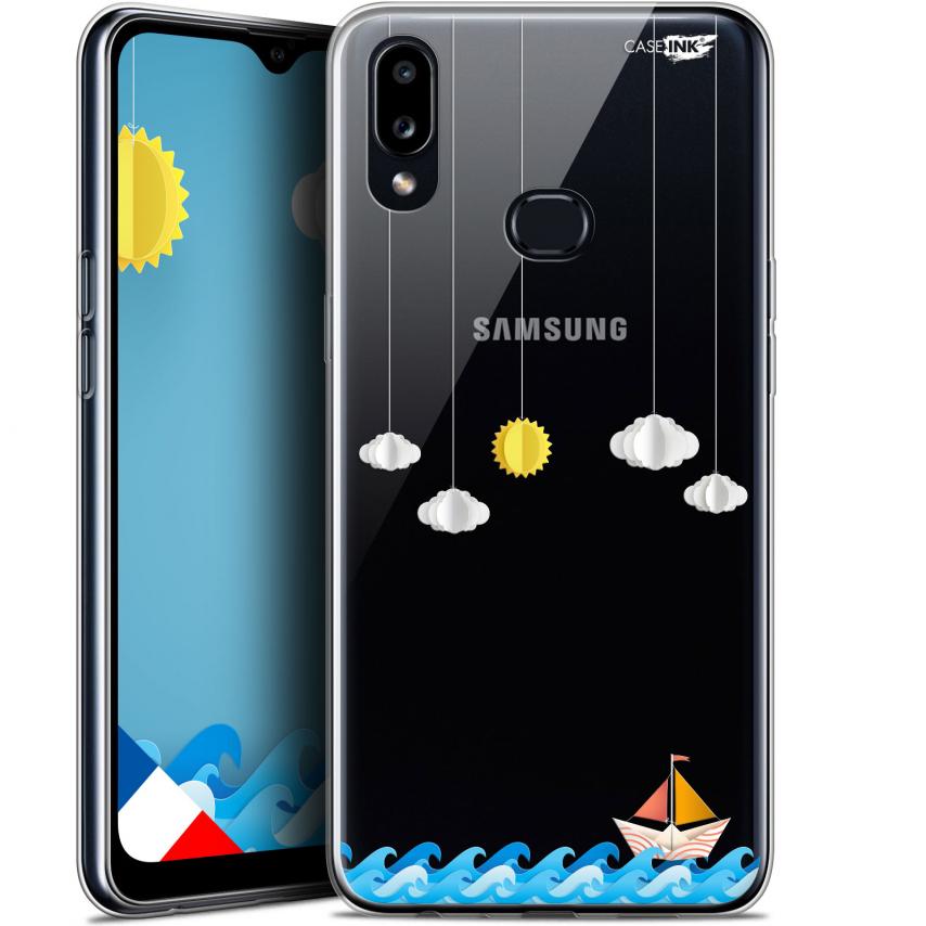 "Carcasa Gel Extra Fina Samsung Galaxy A10S (6.1"") Design Petit Bateau en Mer"