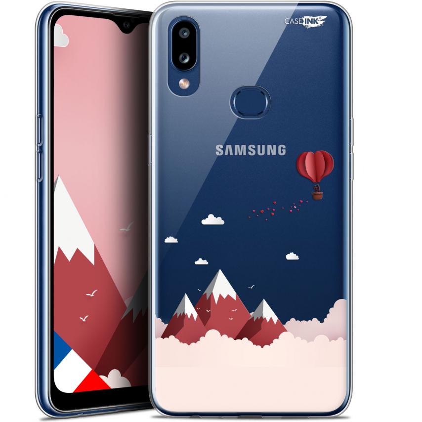"Carcasa Gel Extra Fina Samsung Galaxy A10S (6.1"") Design Montagne En Montgolfière"