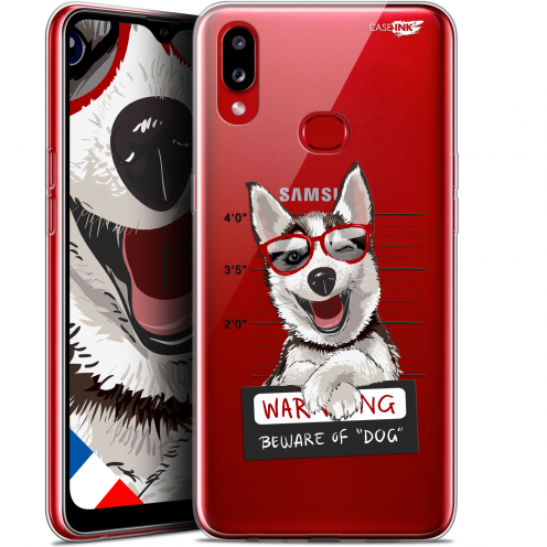 "Carcasa Gel Extra Fina Samsung Galaxy A10S (6.1"") Design Beware The Husky Dog"