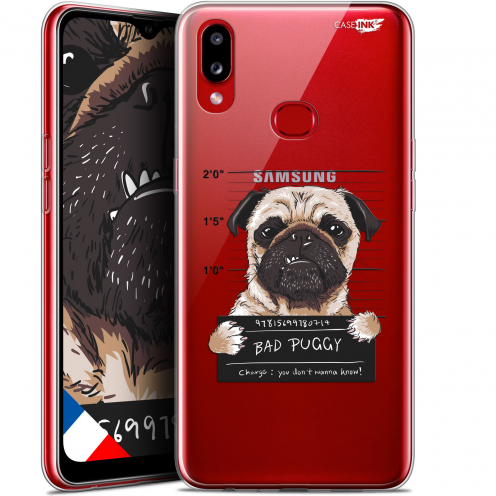 "Carcasa Gel Extra Fina Samsung Galaxy A10S (6.1"") Design Beware The Puggy Dog"