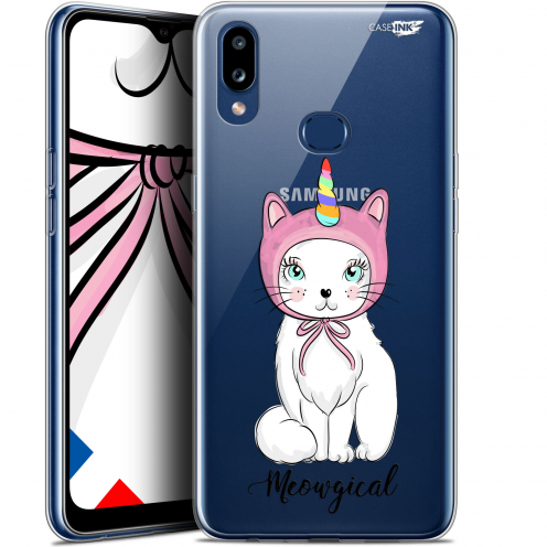 "Carcasa Gel Extra Fina Samsung Galaxy A10S (6.1"") Design Ce Chat Est MEOUgical"