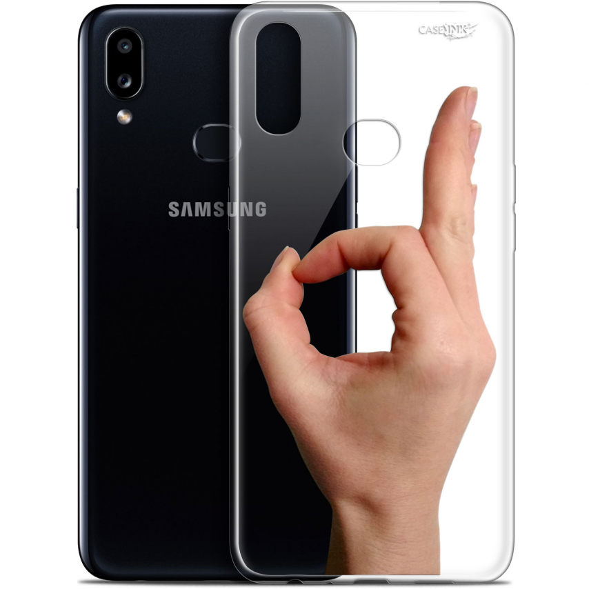 "Carcasa Gel Extra Fina Samsung Galaxy A10S (6.1"") Design Le Jeu du Rond"